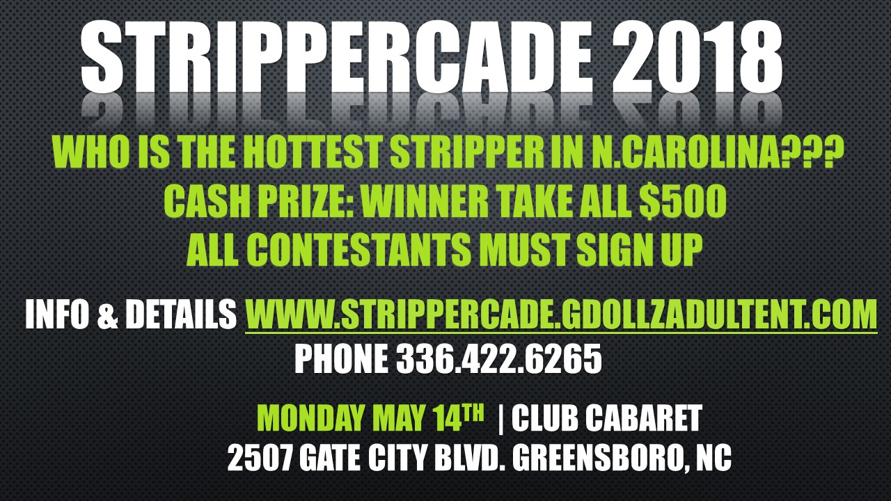strippercade sign up ad